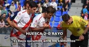 Crónica: Huesca 2-0 Rayo