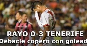 Crónica: Rayo Vallecano 0 – 3 Tenerife