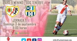 Previa: Rayo Femenino – UDG Tenerife