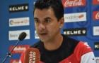 Rueda de prensa de Míchel en la previa del Rayo – Almería