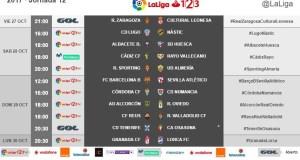 Horario jornada 13: Rayo Vallecano – Albacete