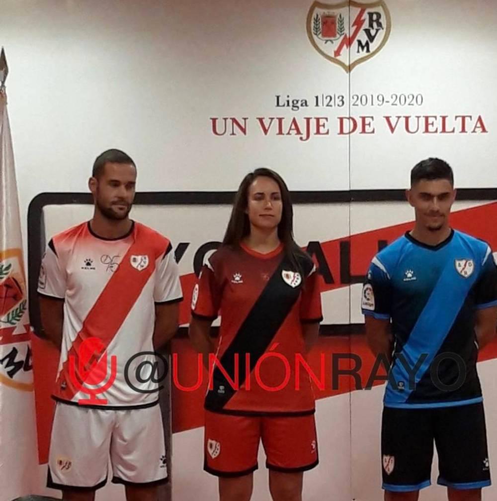 Las nuevas camisetas del Rayo Vallecano 2019/2020