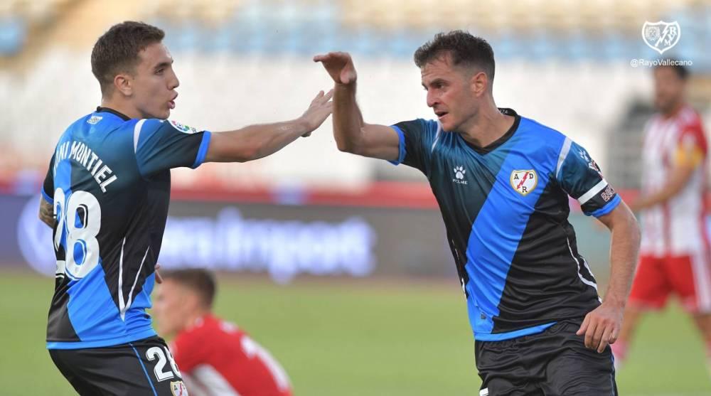 Villar, iguala a Embarba como máximo goleador del Rayo Vallecano ...