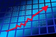 arrow with finance board