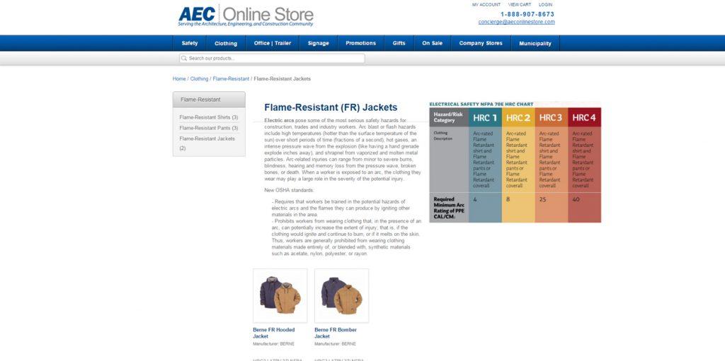 AEC Online Store