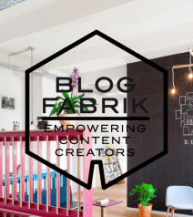 Blogfabrik a collaborative space modeled on paying with content