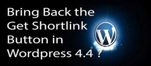Get Shortlink