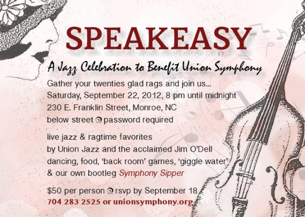 SPEAKEASY A Jazz & Ragtime Celebration