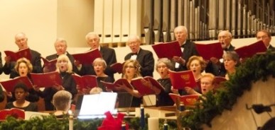 First Baptist Church Christmas Choir