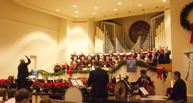 First Baptist Church Christmas Concert with Choir