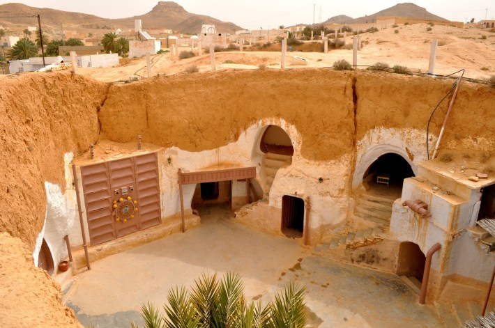 Image result for Star Wars, Hotel Sidi Driss