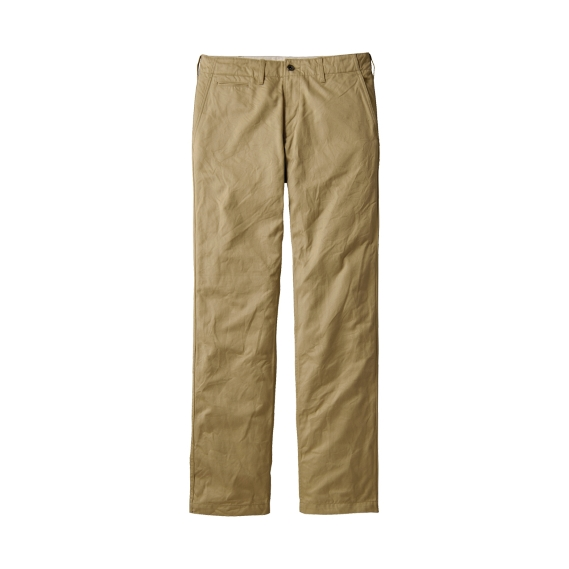 Vintage Chino Flat Front Chino Trousers