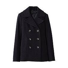 WOMEN Wool Pea Coat