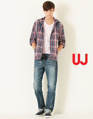 UNIQLO KAIHARA DENIM, KAIHARA JEANS, UNIQLO REGULAR FIT STRAIGHT JEANS