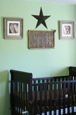 Cowboy Baby Nursery Theme Decorating Ideas