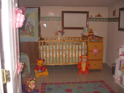 Winnie the Pooh Bear, Tigger and Friends Baby Nursery