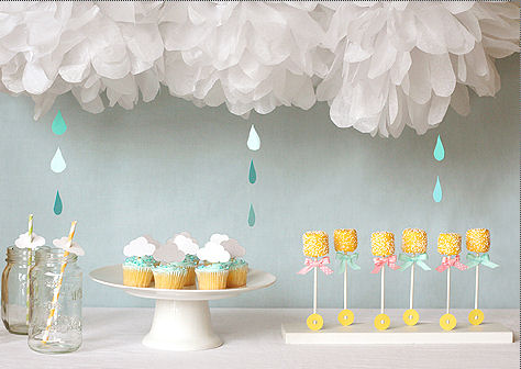 Sweets Decor From A Little Lamb Baby Shower Via Kara S Party Ideas Karaspartyideas