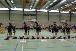 2013 November, Auftritt beim Volleyball 05