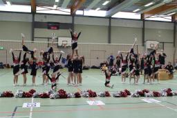 2013 November, Auftritt beim Volleyball 06