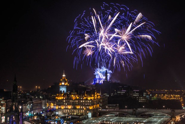 10 Top Cities With The Best New Year's Eve Celebrations -Edinburgh
