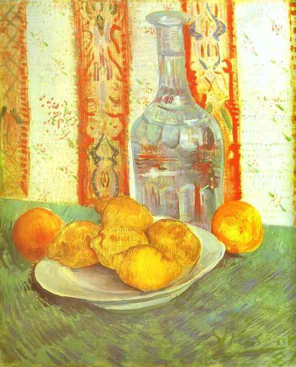 """Résultat de recherche d'images pour """"Vang Gogh Nature morte carafe citron"""""""