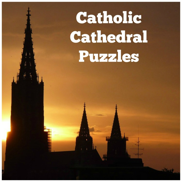 Catholic cathedral puzzles
