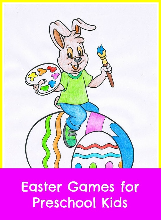 Easter games for preschool kids