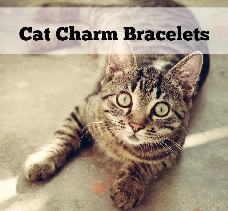 cat charms bracelet