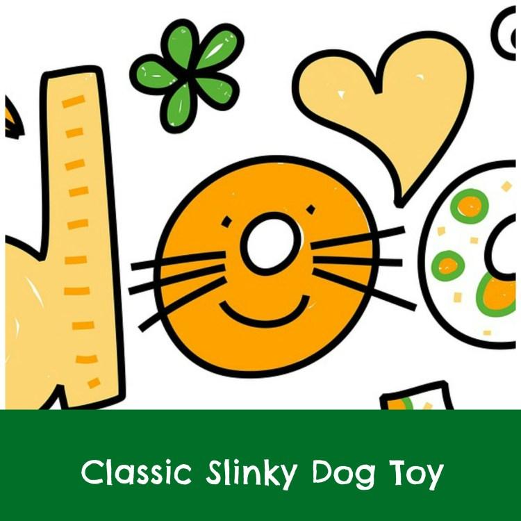 Disney slinky dog toy