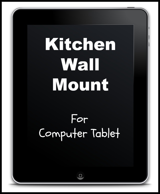 tablet wall mount arm