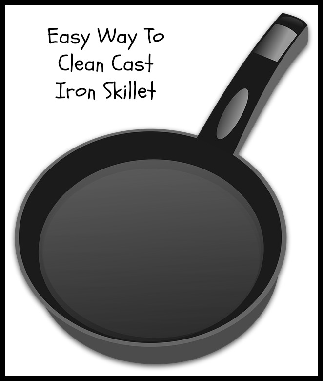cast iron cleaning tools
