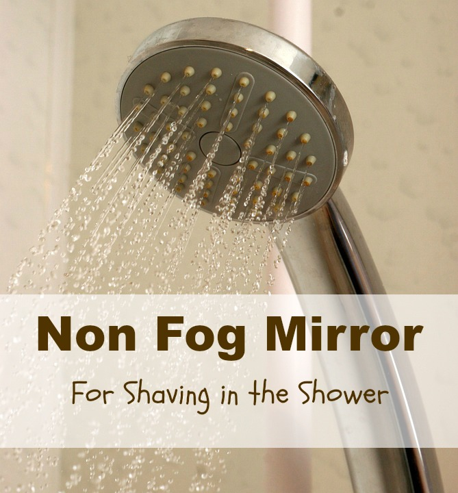 non fog mirror for shower