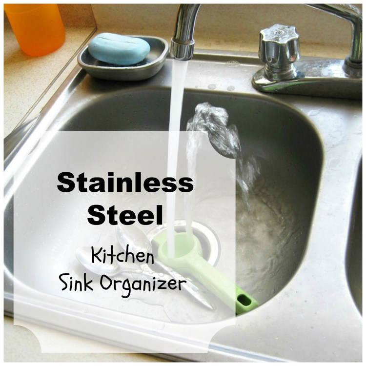 kitchen sink organizer container