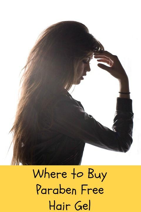 where to buy paraben free hair gel