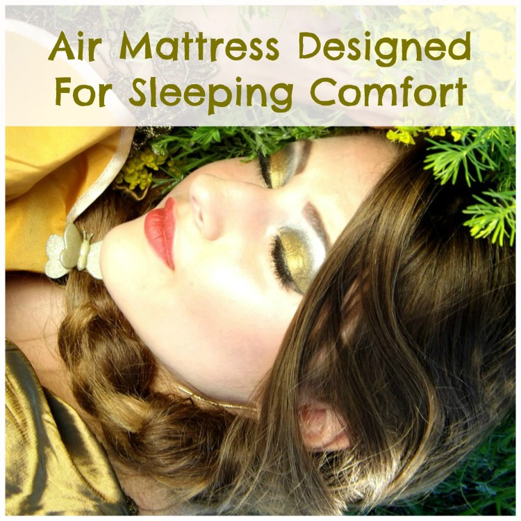 air mattress queen with pump