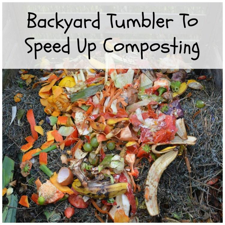 tumbler compost maker