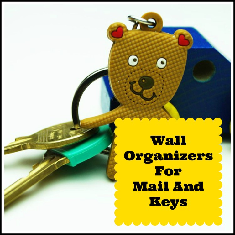 wall organizers mail keys