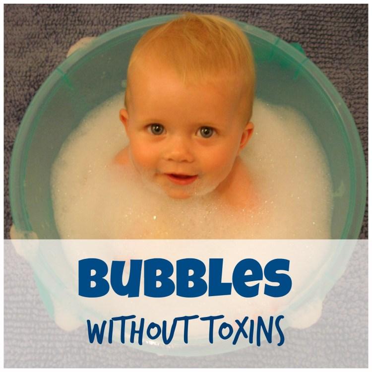 non toxic bubble bath for kids