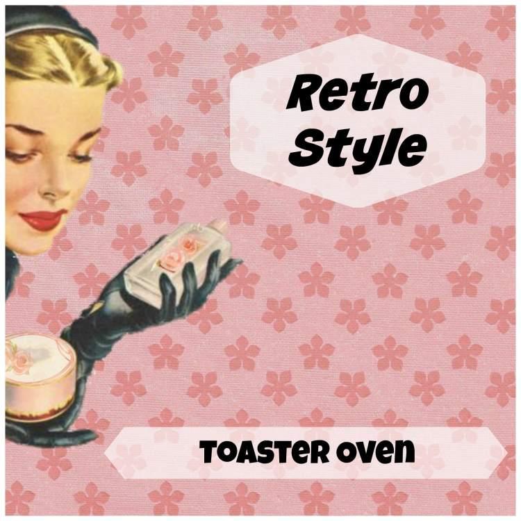 retro style toaster oven