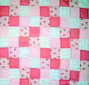 Cotton Candy for Girls baby quilts