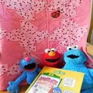 Ladybugs handmade baby qiuilt