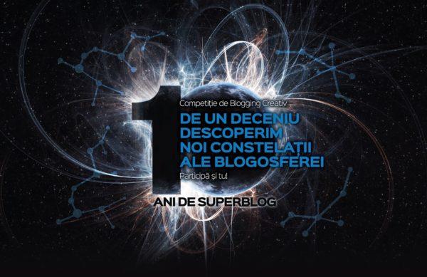 La final de Superblog 2018 – ediție aniversară