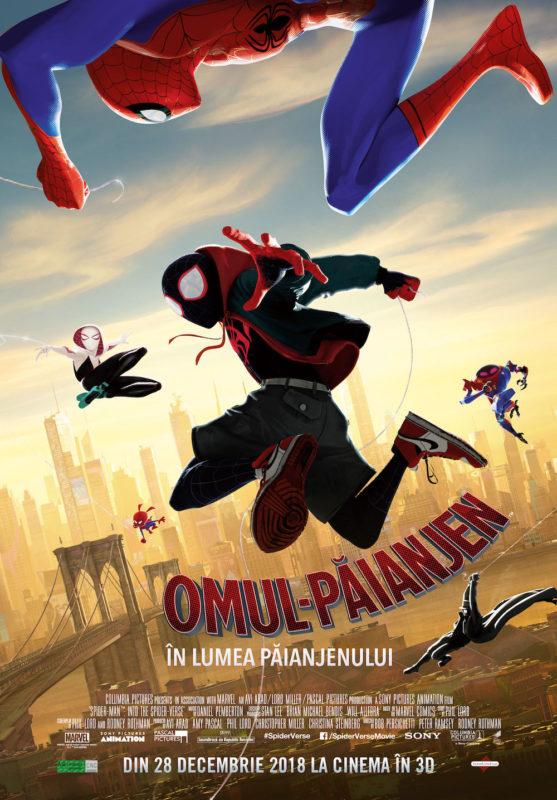 Spider Man into the Spider Verse dub billing Spider - Man pentru o zi