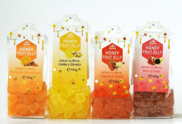 Jeleuri APIDAVA Sugestie pentru cadouri dulci: jeleuri fructate (P)