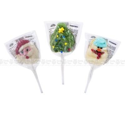 Dulciuri de Crăciun Candytoys: jeleuri, acadele, marshmallows