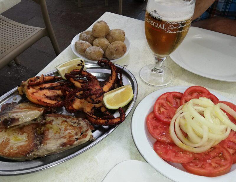 Noi rețete autentice: caracatiță și papas arrugadas