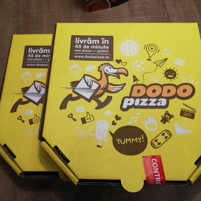 Experiența cu abonamentul câștigat Dodo Pizza
