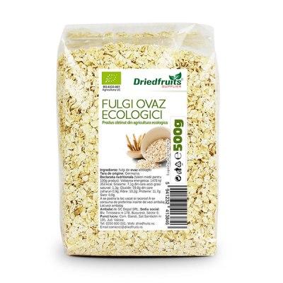 Fulgi ovaz bio 500g 600x600 1 Plan alimentar personalizat și top 10 alimente folosite
