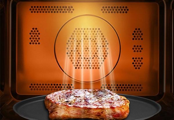 mw crispy grill Bucătărie de vis cu electrocasnice unice Toshiba