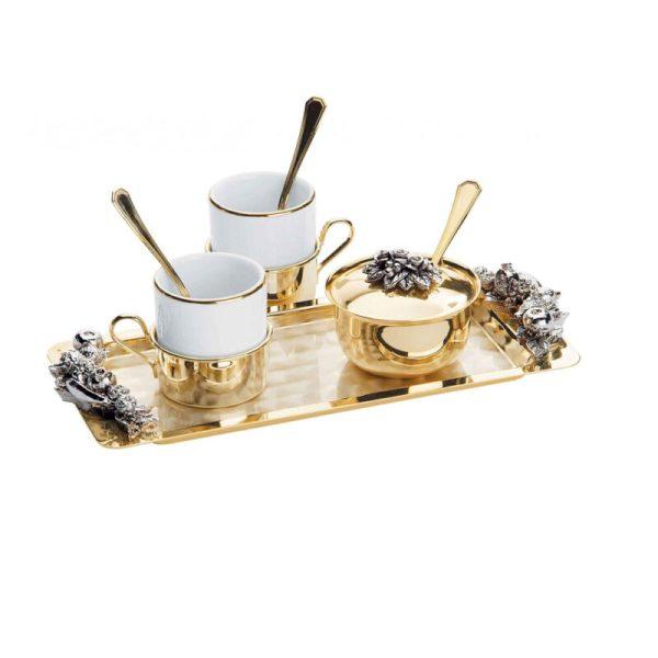 2855 set aurit cafea espresso serra fruits 2 sărbătoriți și cadouri unice Classgifts